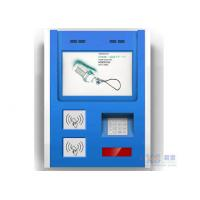 China Touch Screen Smart Card Reader Wall Mounted Kiosk with Bill Validator and Printer on sale