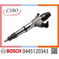 China Genuine WP10BOSC Diesel Engine Part Fuel Injector 612640080031 0445120343 on sale
