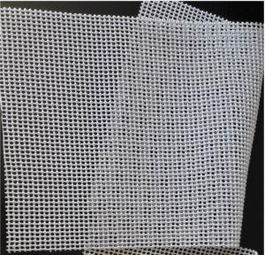 Quality 570g Tapestry Knitting Mat Odorless Pvc Non Slip Mat Beige Color 1.65mx50m Per Roll wholesale