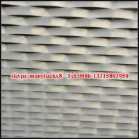 China PVDF aluminum mesh for facade on sale