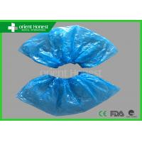 Quality Blue Pe Plastic Indoor Disposable Shoe Cover For Workers And Industrial wholesale