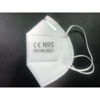 China Soft N95 Medical Mask Good Air Permeability For Smog Antiviral Protection on sale