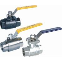 Quality Casting 2PC ball valves 2000PSI Welding Seal wholesale
