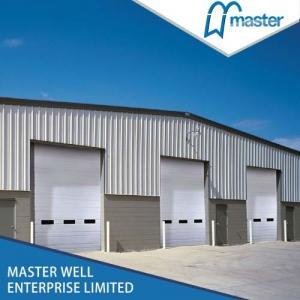 China Galvanized Steel Industrial Sectional Overhead Garage Door / Automatic Garage Door on sale