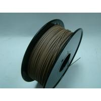 Quality Markerbot 3d Printer Wood Filament , 3d printing consumables temperature 190 - 230°C wholesale