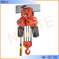 Quality Heavy Load Electric Chain Hoist For Stage Hoist , Electric Wire Rope Hoists wholesale