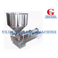 Buy cheap Semi-automatic High Viscosity Cream Paste / Liquid Filling Machine from wholesalers