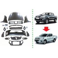 Quality Facelift for Toyota Hilux Vigo 2009 and 2012 , Upgrade Body Kits to Hilux Revo 2016 wholesale
