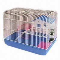 Quality Pet/Hamster Cage, Made of Wire and Plastic, Measures 34x23.5x32cm wholesale