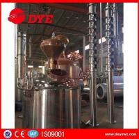 copper mini home laboratory alcohol distillation equipment apparatus