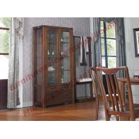 Quality Solid wooden with Glass Door Sideboards for Wine Cabinet in Dining Room Furniture wholesale