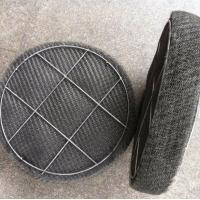 Cheap 98% Efficiency Stainless Steel Knitted Wire Mesh Demister Pad Flat / Corrugated for sale