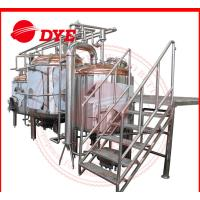 Quality 380V 1000L Full-Automatic Beer Brewing Tanks Gas Heating With Lauter Tun wholesale