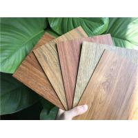 Quality Residential LVT Wood Flooring Recycled Sound Absorption UV Coating With Click System wholesale