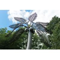 Quality Stainless Steel Palm Tree Large Outdoor Sculpture Metal Garden Ornaments wholesale