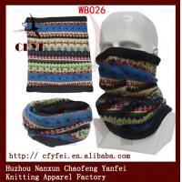 China OEM serice outdoor winter scarves fleece face mask ski hat cheap winter on sale