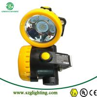 China Wireless LED Mining Hat Spot Light Head Lamp for Miners Cap on sale