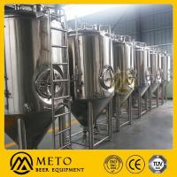Buy cheap Used micro brewery, stainless steel, 1000 l beer/brew from wholesalers