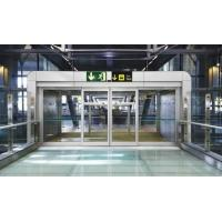 Quality Aluminium Curved Sliding Door Soundproof  / Automatic Slide Door With Motor wholesale