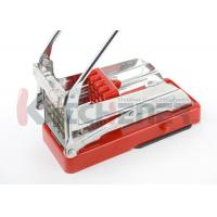 Quality Easy Slicing Potato French Frie Maker Machine With Round Bottom / 2 Blades wholesale