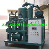 Quality ZYD-50 Double Stage High Vacuum Transformer Oil Treatment Plant wholesale