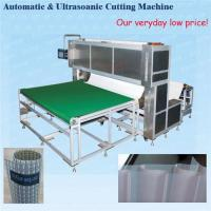 China Automatic hard/soft fabric roller blinds ultrasonic cutting machine on sale