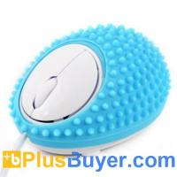 China Hedgehog Style Wired USB Optical Massage Mouse on sale