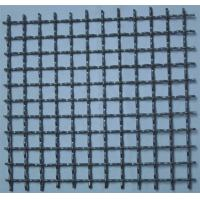 China Lock Woven Copper Crimped Wire Mesh For Construction , Aperture 50mm / 100mm on sale