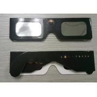 Buy cheap Eclipse Glasses for Watching Sun Spot - Safe Solar Cardboard Eclipse Shades from wholesalers