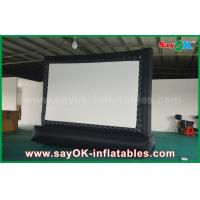 Quality 5 X 3m Oxford Cloth Outdoor Inflatable Billboard Movie Screen wholesale