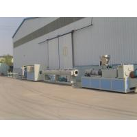 Quality Drainage and Water Supply PVC Pipe Extrusion Line / Plastic Extruder wholesale