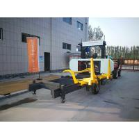 Quality Log Cutting Band Saw Timber Horizontal Sawmill Portable Sawmill Diesel engine wholesale