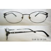 Quality Round Black Optical Frames For Women For Reading Glasses , Comfortable Classic wholesale