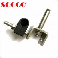 China 7/8 Coax Cable Clamp Stainless Steel Feeder RF Cable Clamps on sale
