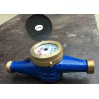 Quality Residential Cold Water Multi Jet Meter Iso4064 Class B With Brass House wholesale