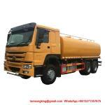 Quality Water Bowser Truck  HOWO 6x4  25000L Water Tank WhatsAp+8615271357675 wholesale