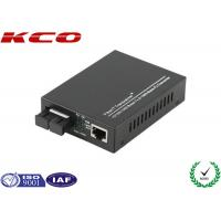 Quality Ethernet Fiber Media Converter , Optical Fiber Media Converter 1000Mbps SC Port wholesale