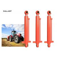 Double Acting Hydraulic Cylinders Piston Type Farm Machine For Tractor