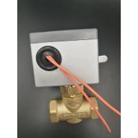 Quality BRASS MATERIAL 2 Way Motorised Valve For Chilled Water With Rest By Spring wholesale
