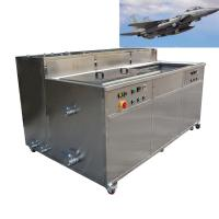 Quality Aircraft Accessories Industrial Ultrasonic Cleaning Machine For Steel Aluminum Copper Brass wholesale