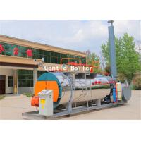 Quality Skid Mounted Natural Gas Steam Boiler For Hotel And Bath Center Easy Installation wholesale