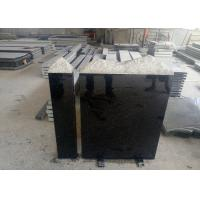 Quality European Style Granite Memorial Headstones Black Galaxy / Other Color wholesale