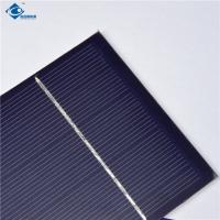 China 0.5W Polycrystalline Mini Solar Panels High Efficiency For Small Power Supply on sale