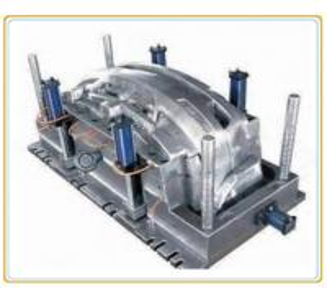 Cheap Plastic Precision Injection Molding , Single-cavity Car Bumper Moulding for sale