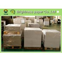Waterproof CCNB Grey Card Paper Board , Grey Recycled Paper Roll Eco Friendly