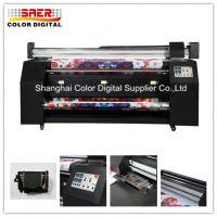 China DX7 Print Heads Digital Flag Printer 2.2m Print Width For Fabric Directly Printing on sale