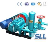 China Horizontal Drill Rig Concrete Grout Pump , SBW Triplex Plunger Electric Cement Grout Pump on sale