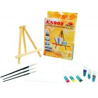 Quality Beautiful Oil Painting Sets For Adults With Table Triangular Easel wholesale