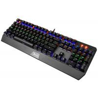 Quality Wired Gaming Keyboard 104 Keys , Mechanical Light Up Keyboard ABS Plastic Material wholesale