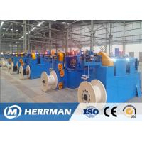China High Speed Horizontal Wire Taping Machine , Fire Resistance Cable Making Machine on sale